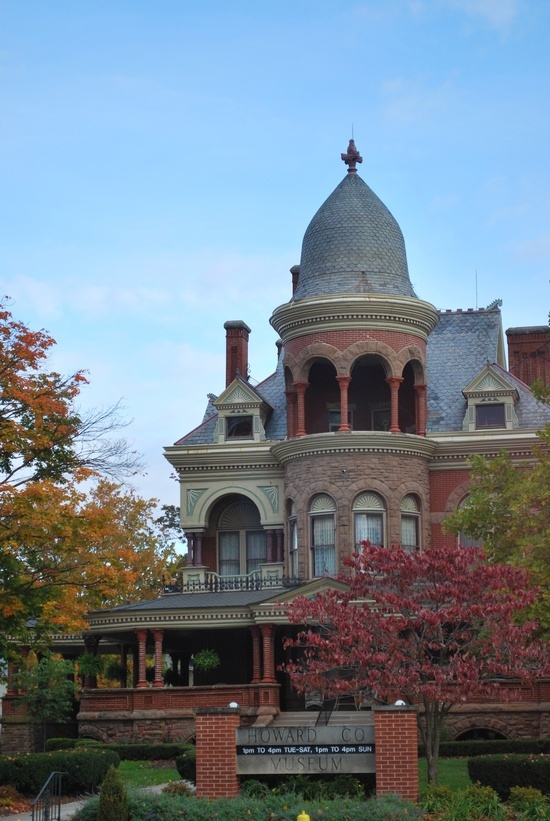 Seiberling Mansion Kokomo Indiana The Late Victorian
