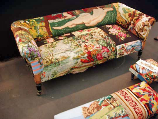 138 Best Images About Needlepoint Upholstered Chairs On