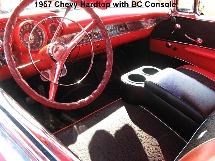 Classic Car Consoles With Cup Holders For Bench Seat Cars