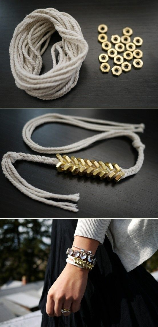 The Chevron Bracelet and other DIY