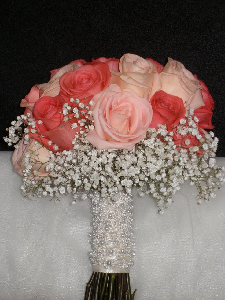 1000 Ideas About Coral Wedding Bouquets On Pinterest