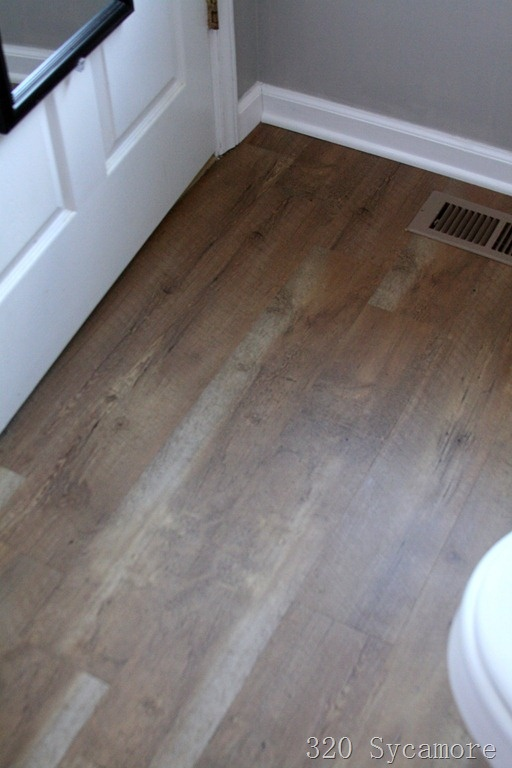 Home Depot Allure Laminate Flooring in Pacific Pine