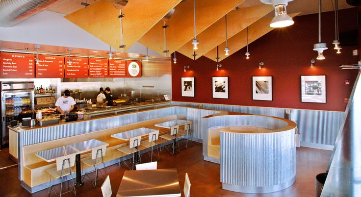 Chipotle Mexican Grill Interior S Pinterest