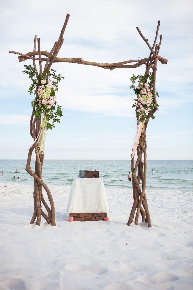 Rustic Beach Wedding FL