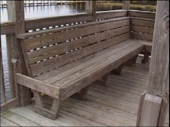 17 Best Images About A Dock Bench Firepit Seating On