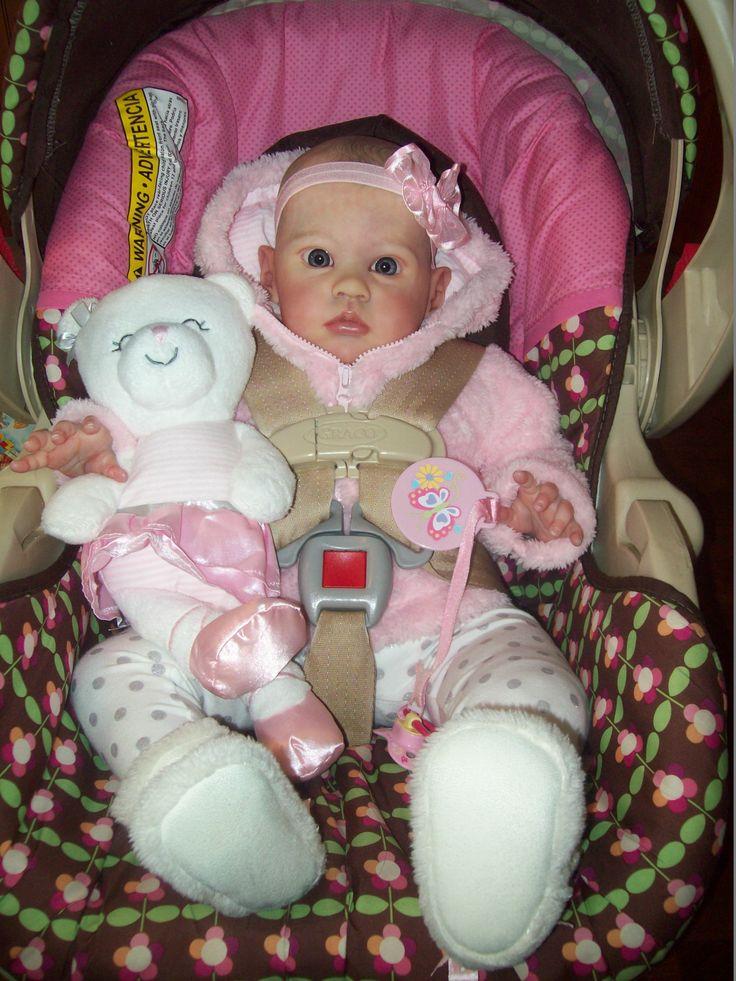 Reborn Life like baby doll My award winning baby www