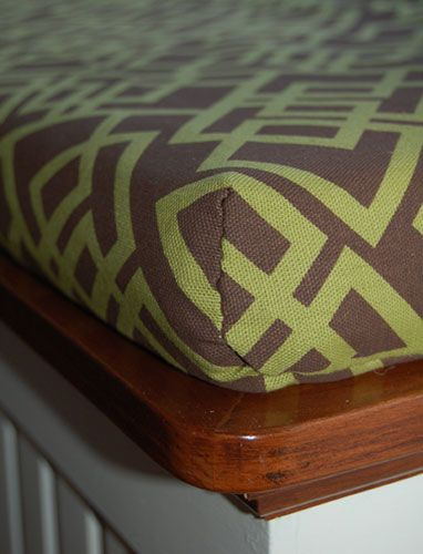 Bench Cushions Diy Bench And Cushion Covers On Pinterest