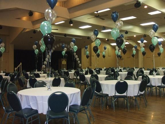 Family Reunion Banquet Centerpieces