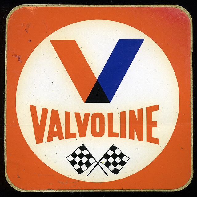 Valvoline by sarcoptiform, via Flickr Logos Pinterest