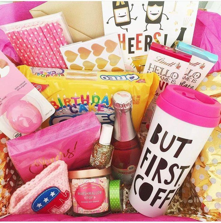 Birthday basket Gifts! Pinterest Birthdays, Birthday
