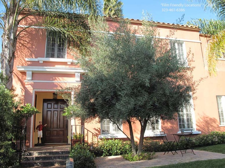 Spanish Colonial in LA, pretty Olive Tree spanish