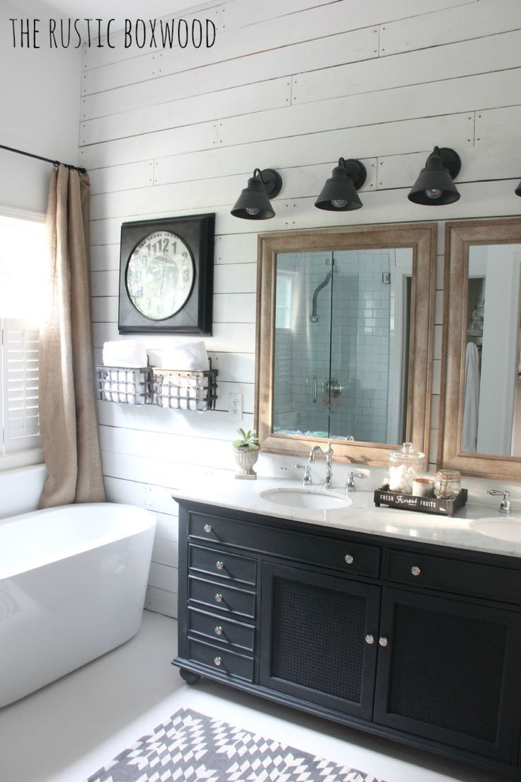 Our DIY Farmhouse Styled Bathroom Makeover The Rustic