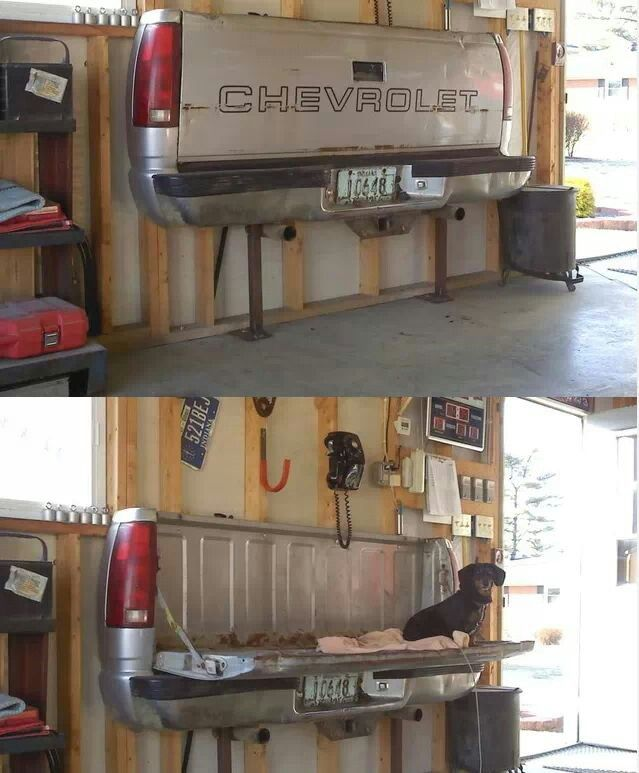 Chevy Tailgate Seat Or Table For The Shop Idea Truck