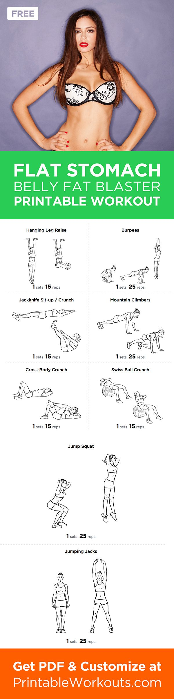 Looking to firm and flatten your stomach for the summer months ahead? This worko