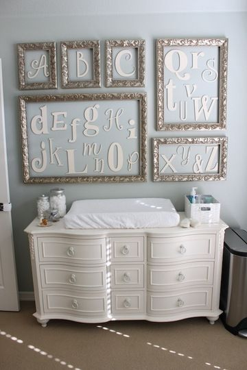 use a dresser for a changing table so it can be functional when they get older i