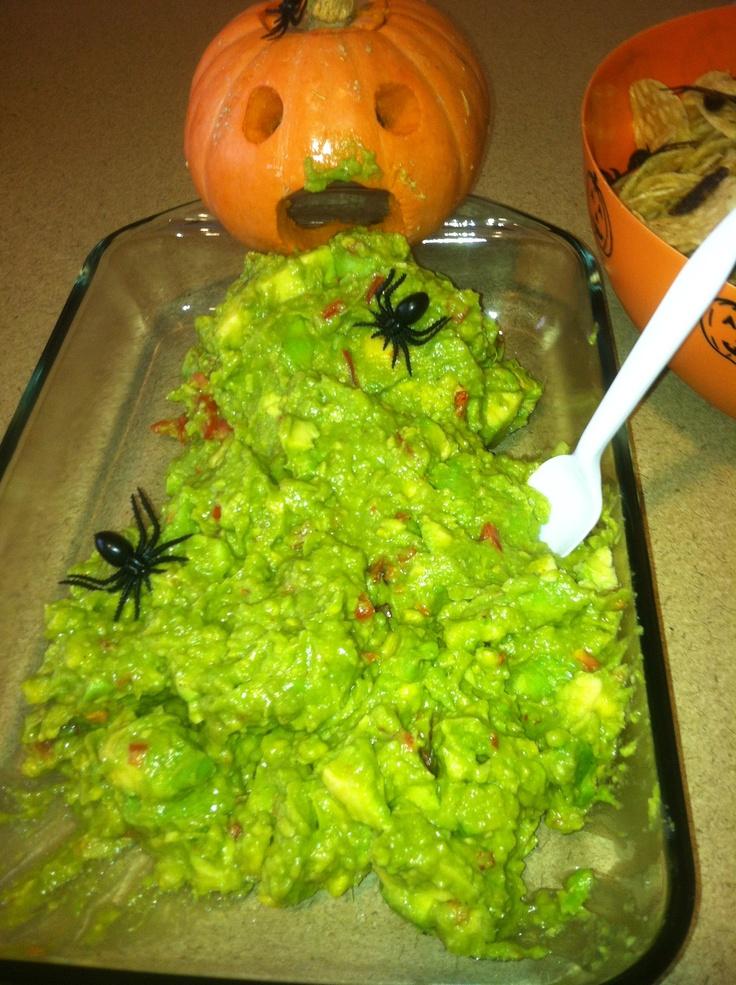 made this for a halloween potluck! halloween Pinterest