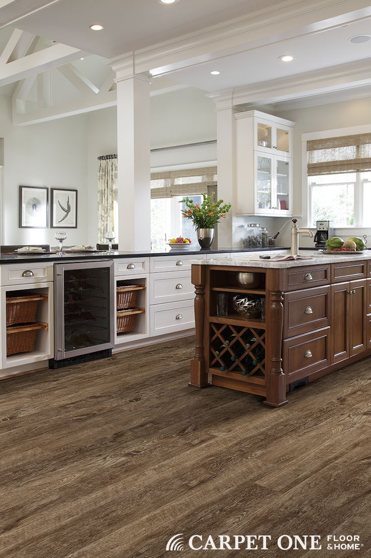 The look of wood in vinyl plank flooring. FLOOR Vinyl