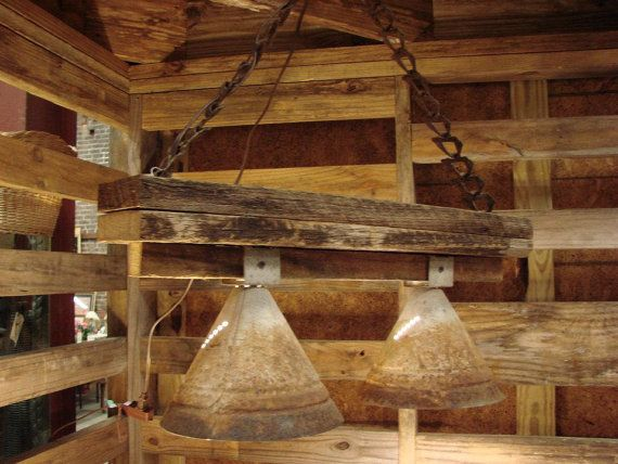 Reserved For Jacqui....Rustic, Industrial Hanging Lighting