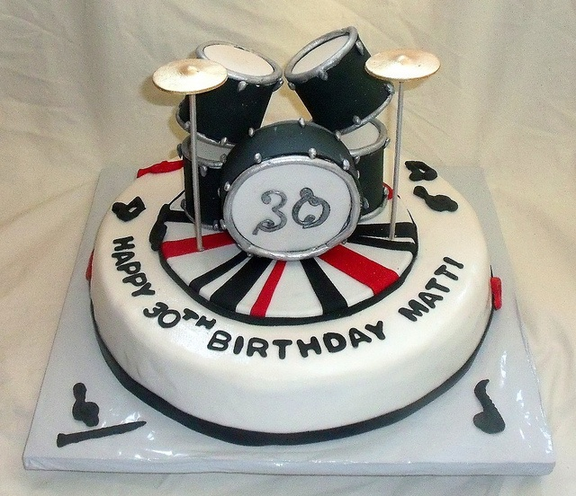 25 Best Ideas About Drum Birthday Cakes On Pinterest