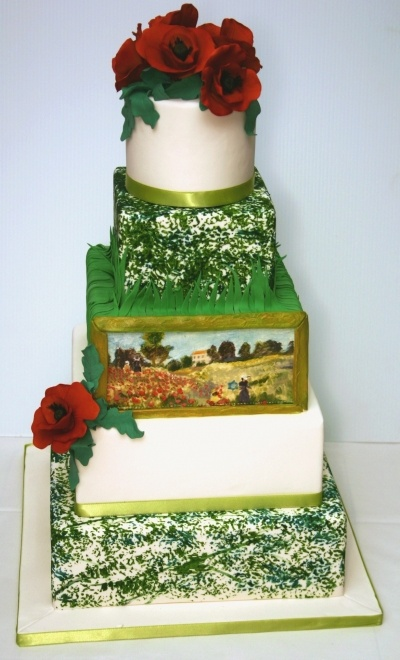 45 Best Images About Monet Cakes And Party On Pinterest