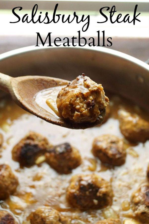 Salisbury Steak Meatballs The Ultimate Party Week 59: