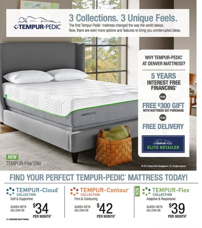 Find Your Perfect Tempur Pedic At Denver Mattress Pricing And Finance Offers Good