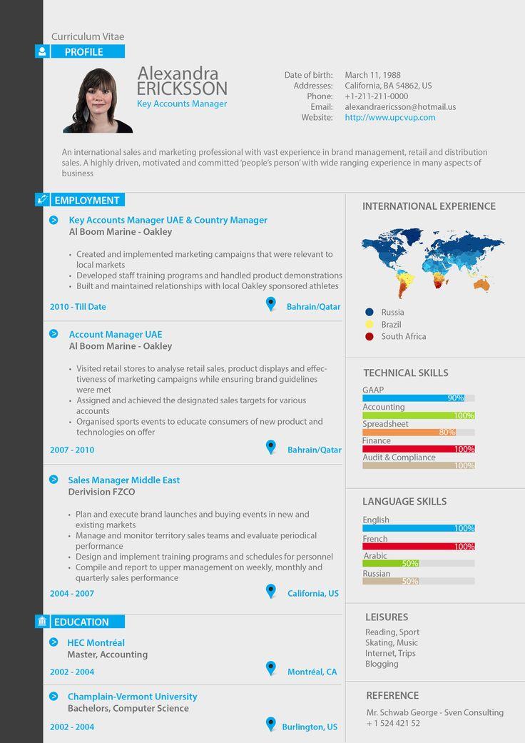 Modele Cv Key Account Manager Document Online