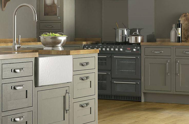 Cooke Amp Lewis Carisbrooke Taupe Framed Kitchen Ranges