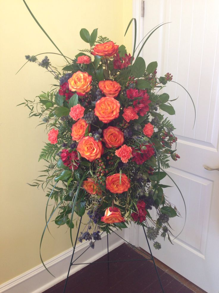 Funeral flowers. Heritage Funeral Homes, Crematory and