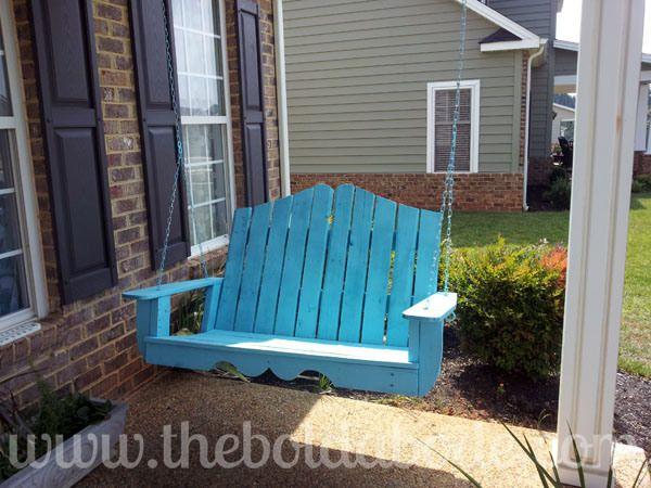 25+ Best Ideas About Pallet Porch Swings On Pinterest
