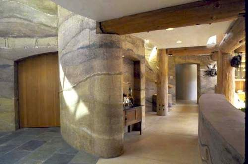 Rammed Earth Home Building With Compressed Dirt
