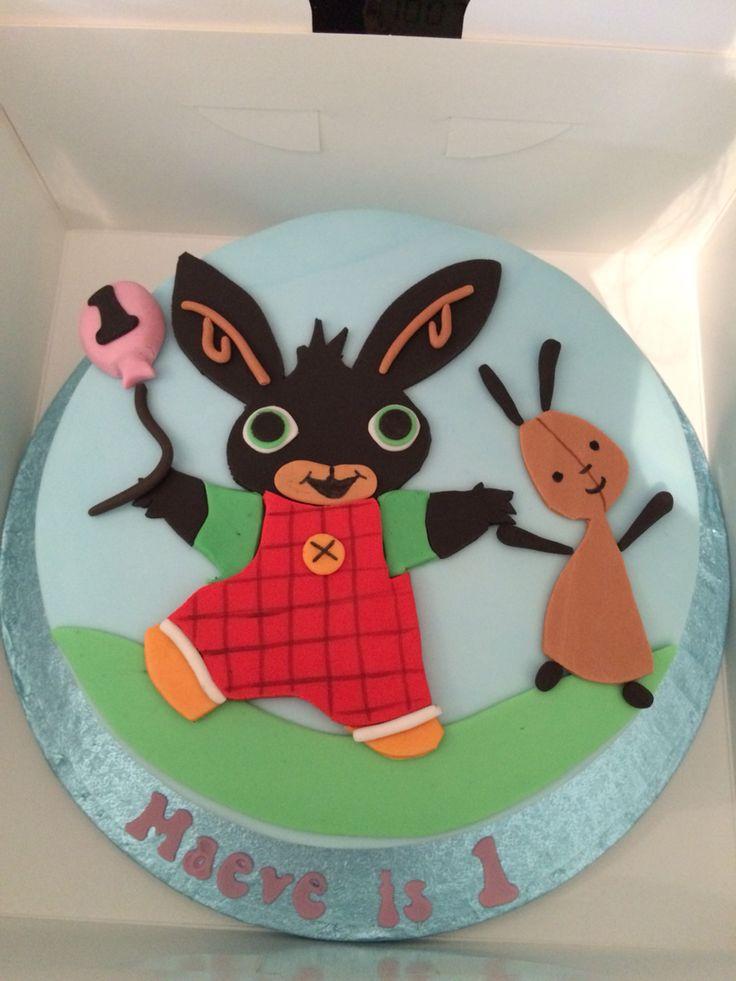 Bing Bunny Birthday Cake For My Daughters Birthday