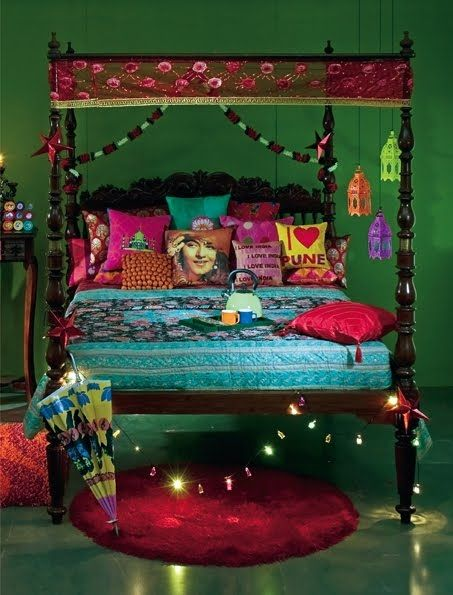 Indian Ethenic Style For Bedroom Via An Summer Elle Decor India Collector S Copy