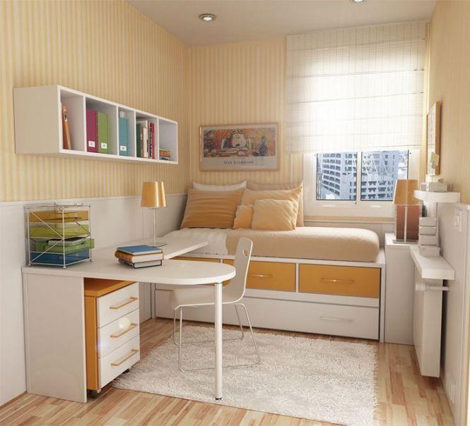 Ideias Criativas Para Decoração De Quartos Pequenos Small Bedroom