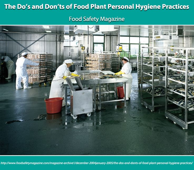 The Do's and Don'ts of Food Plant Personal Hygiene