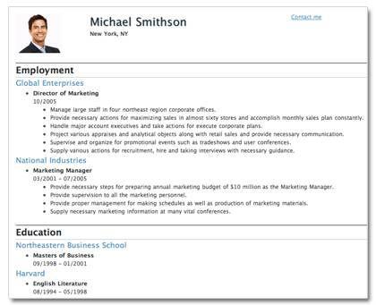 resume format template printable for jobs company printable resume