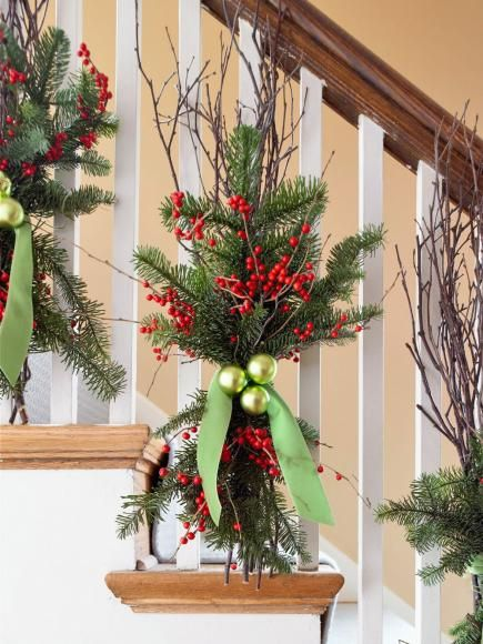 Christmas decorations for your steps, mantel, tree and backyard are among our most-repinned Christmas decorating ideas on