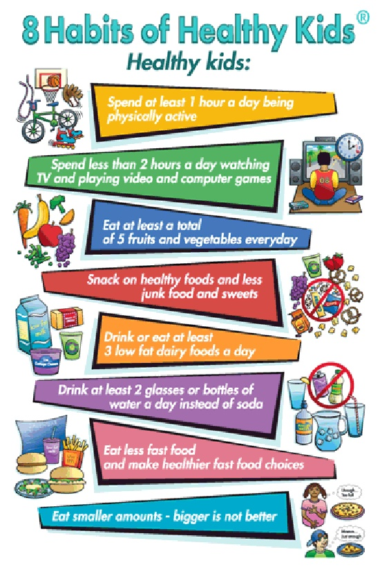 Help kids stay healthy with these habits. (via