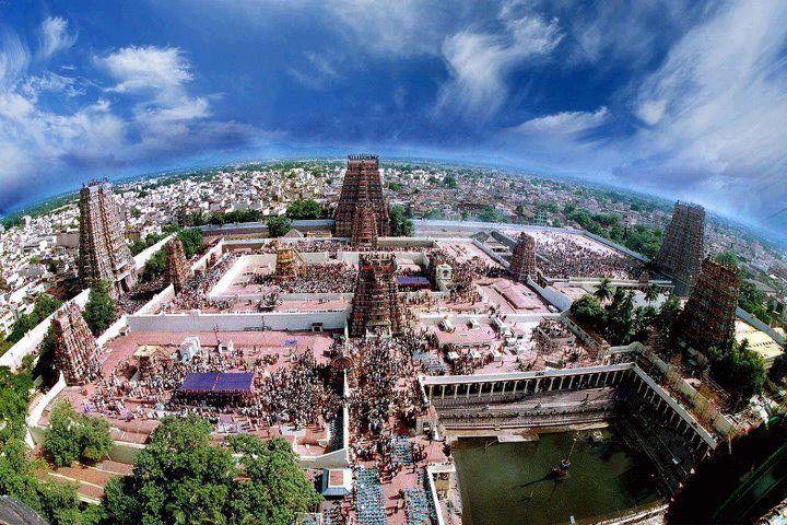 Awesome view Meenakshi Amman Temple, Madurai, Tamilnadu