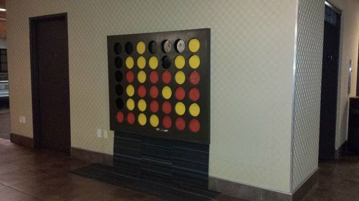 Giant Wall Mounted Connect Four Man Cave Pinterest Spikes Connect Four And Photos