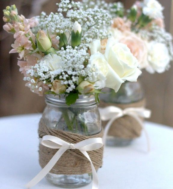 Shabby Chic, Rustic Vintage Wedding , DIY Wedding Ideas and Inspirations | Wed M