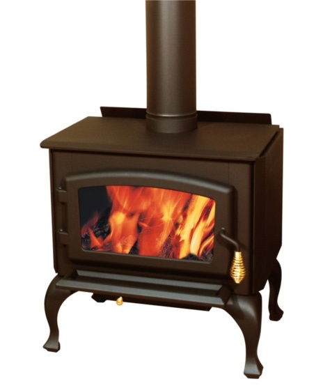 Great Small Wood Stove With Queen Anne Style Legs