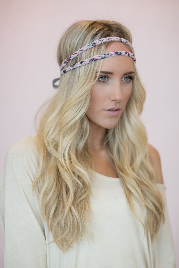 Bohemian Headband Indie Hair Bands Double Strand Crown
