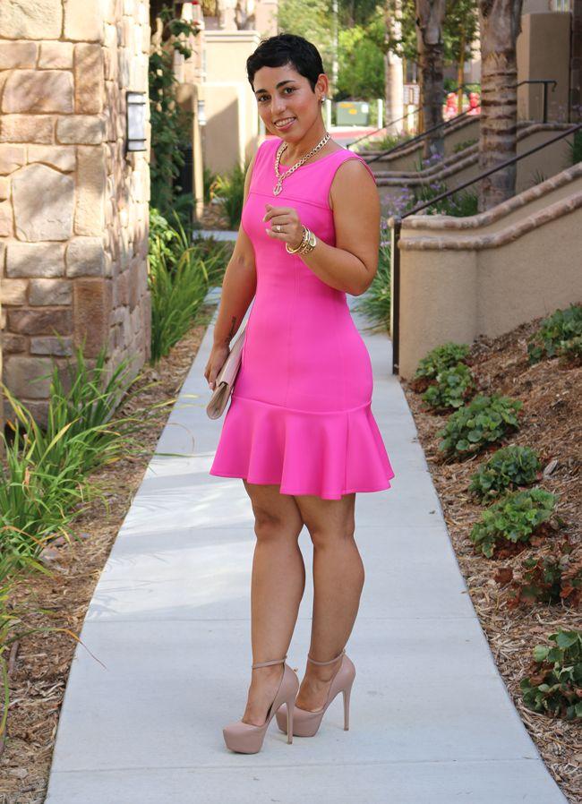 DIY Pink Dress + Pattern Review M6988 Mimi G Style