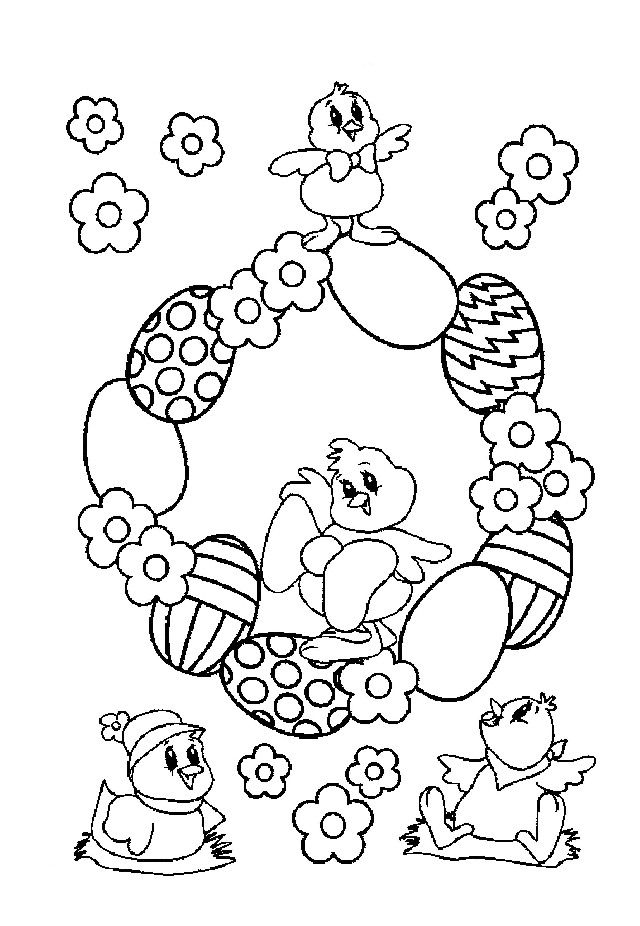36 best images about easter coloring pages on pinterest