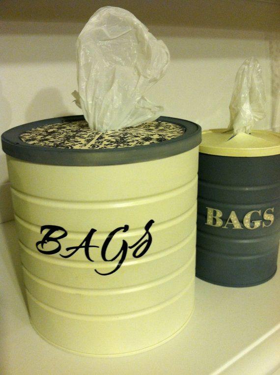 Kitchen Bag Holder–what a cool idea!!!!