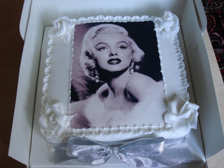 13 Best Images About Marilyn Monroe Cake S On Pinterest