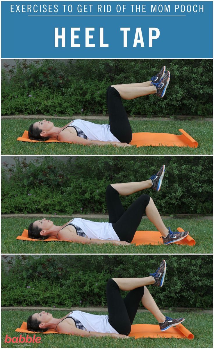 8 exercises to get rid of your mom tummy mummy tummy