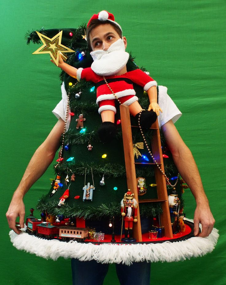 UGLY CHRISTMAS SWEATER DIY 2013 (Tipping the Ladder