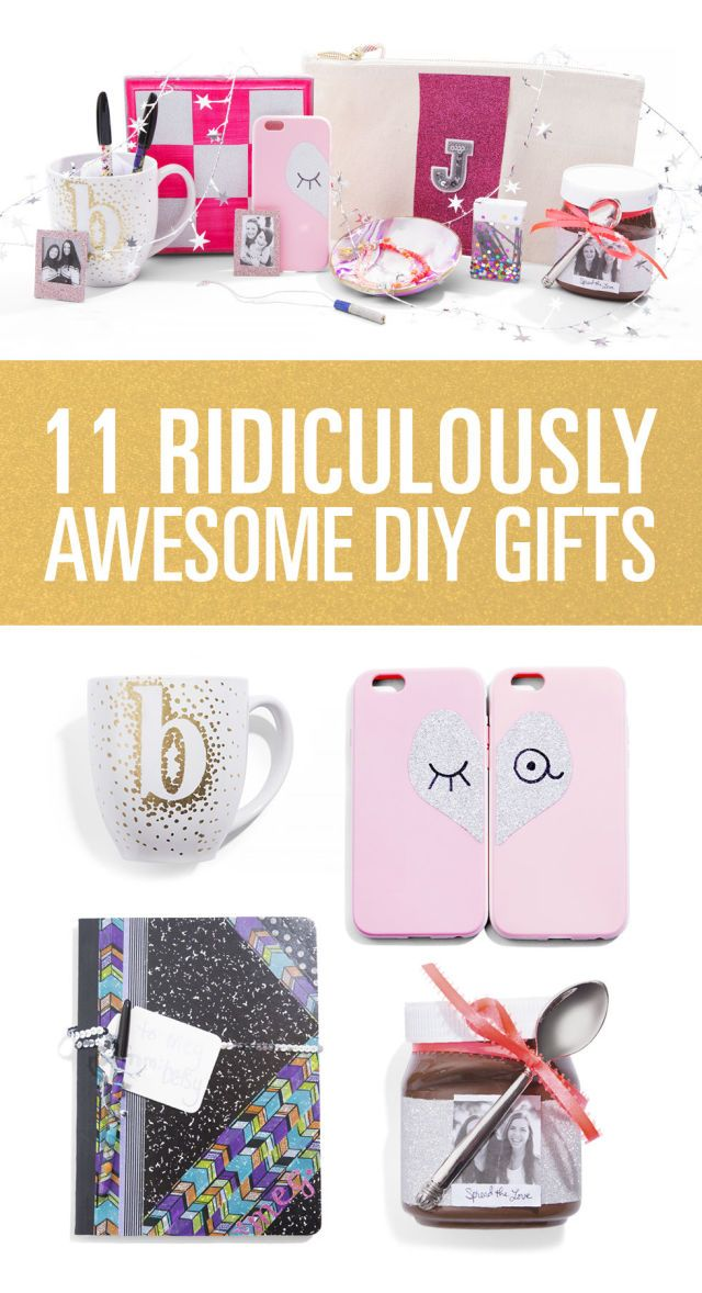 11 Ridiculously Awesome DIY Gifts for Your BFFs Awesome